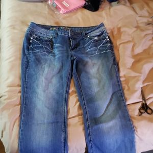 Womans size 11 ymi blue jeans